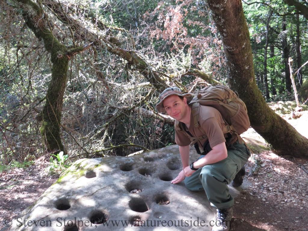 Ohlone bedrock mortar