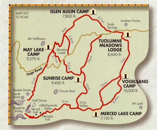The High Sierra Loop Introduction Natureoutside