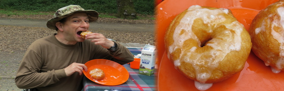The Secret to Make Piping Hot Doughnuts while Camping