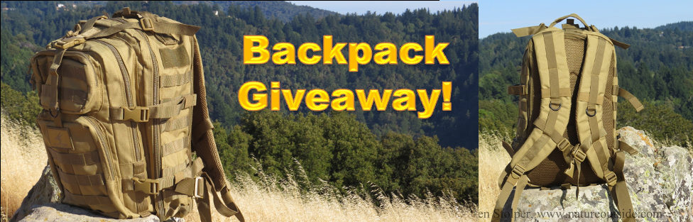 Win an Exos-Gear Bravo Backpack!