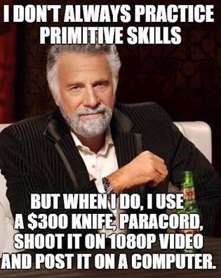 bushcraft meme