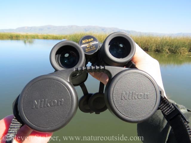 Monarch 5 binoculars rain guard