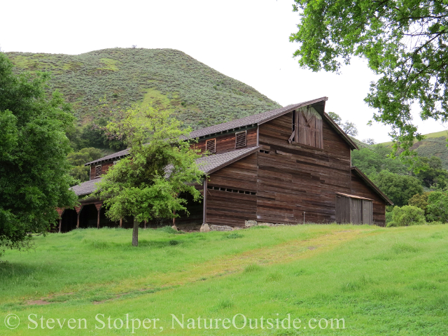 barn at JB Ranch Sunol Regional Wilderness