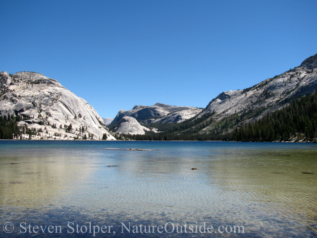 Tenaya Lake in Yosemite National Park