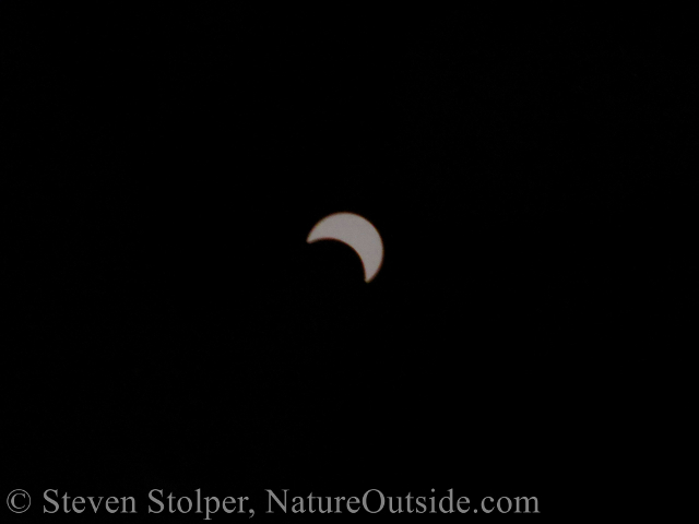 photo of eclipse in Zambia 2001