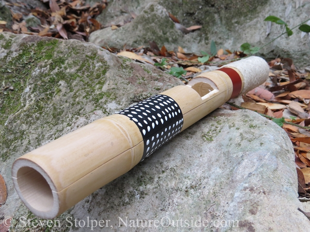 bamboo clapper stick painted
