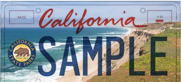 california state parks license plate art contest - natureoutside